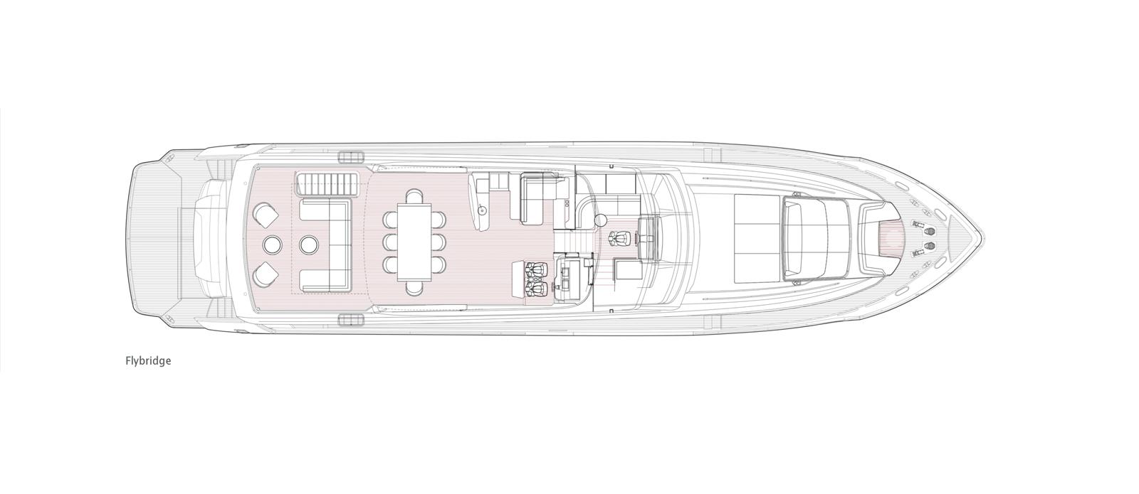 Princess 30 Metre Yacht Bandazul - Flybridge GA