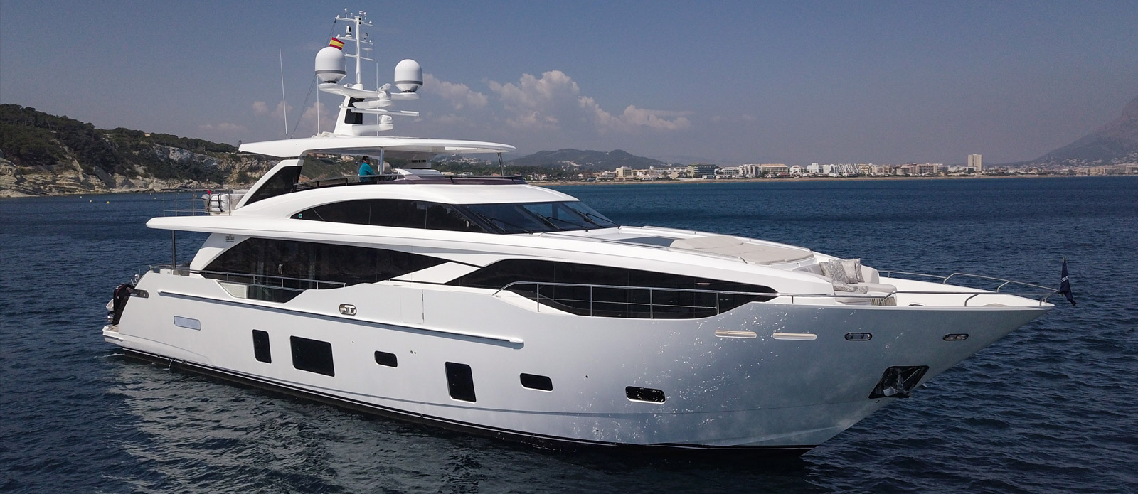 Princess 30 Metre Yacht at Anchor