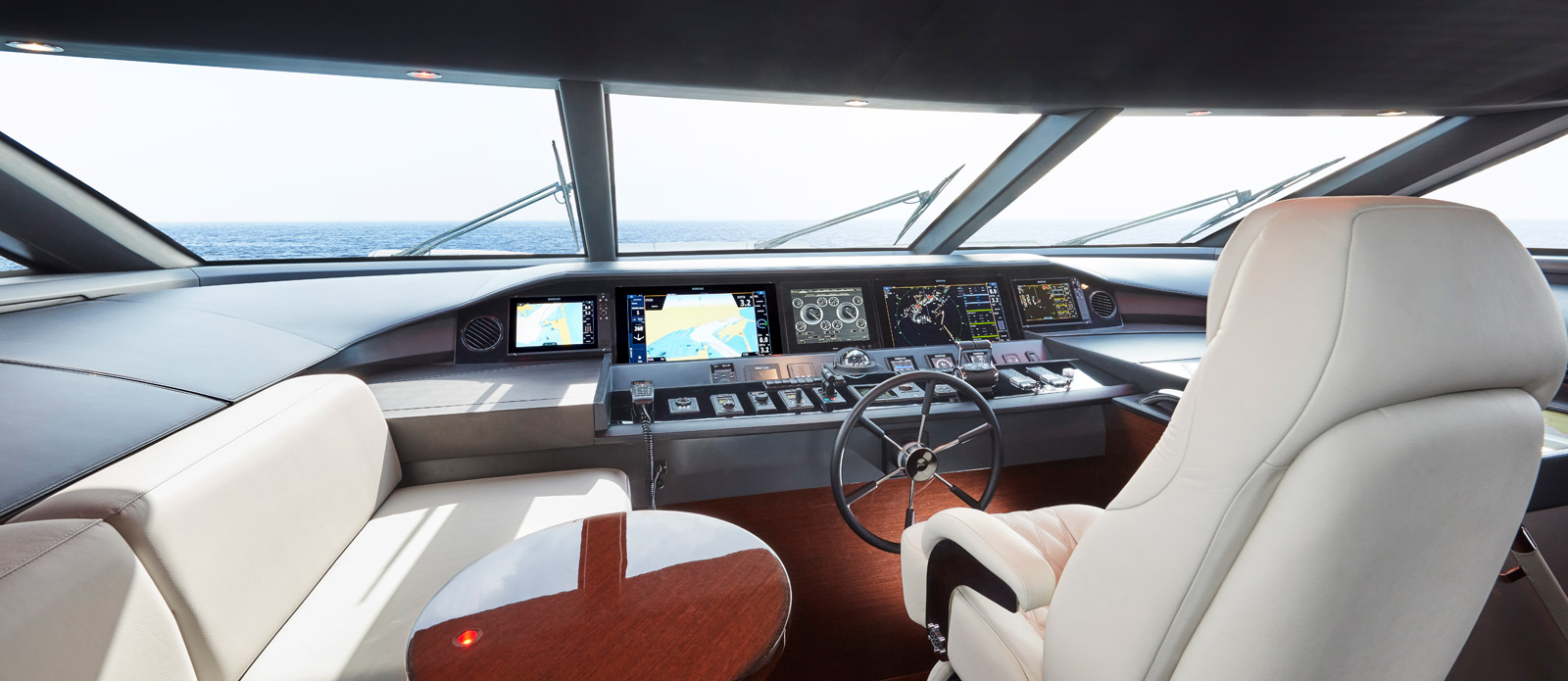 Princess 30 Metre Yacht Bandazul - Wheel House