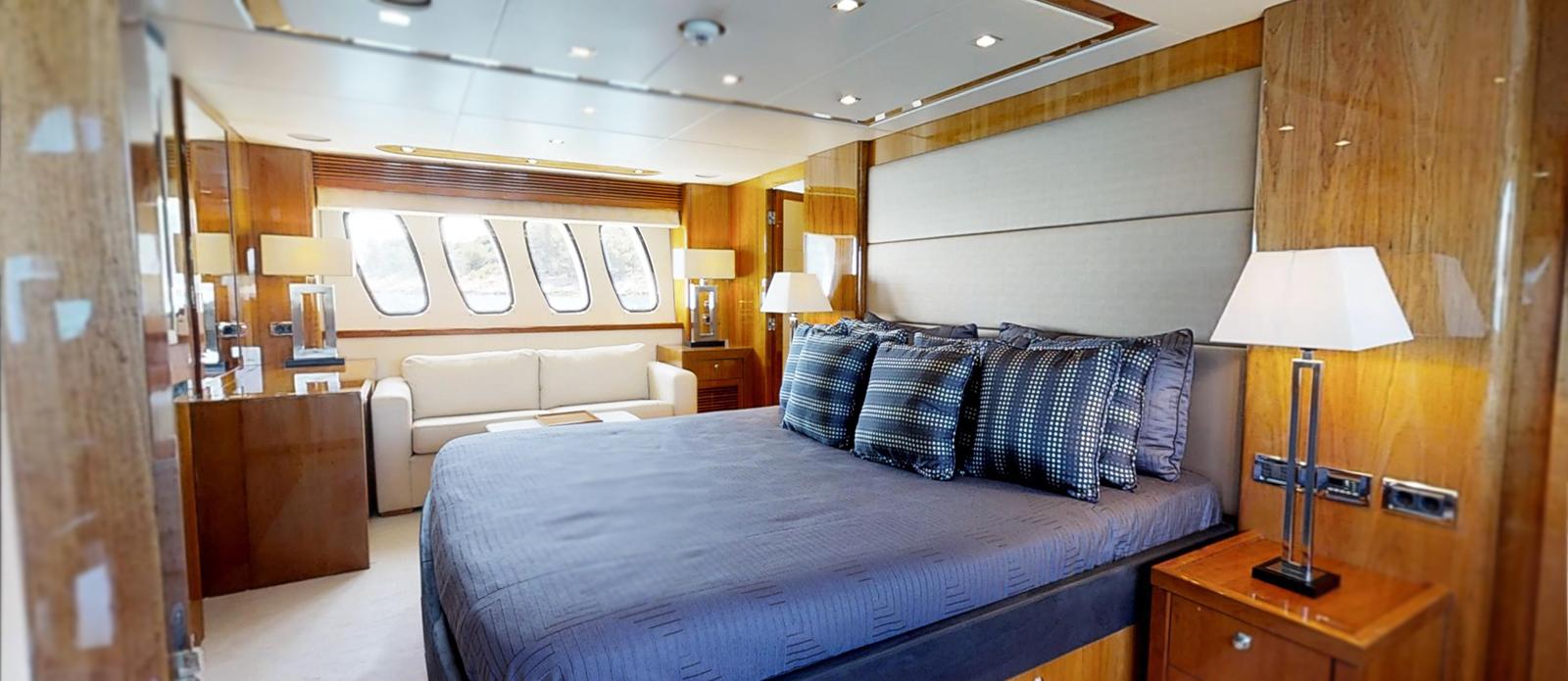 Sunseeker 34m Master Cabin