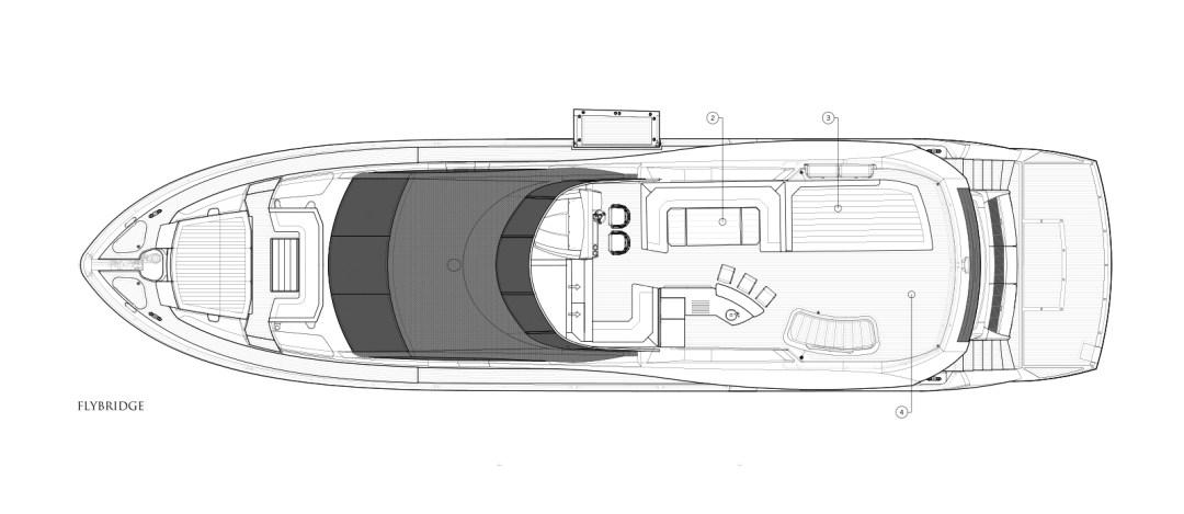 MiBowt Sunseeker 86 Yacht Flybridge