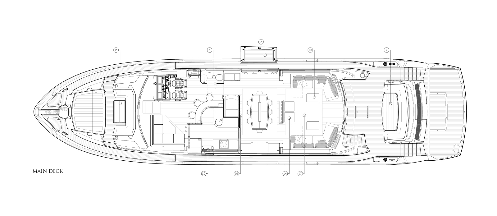 MiBowt Sunseeker 86 Yacht Main-Deck