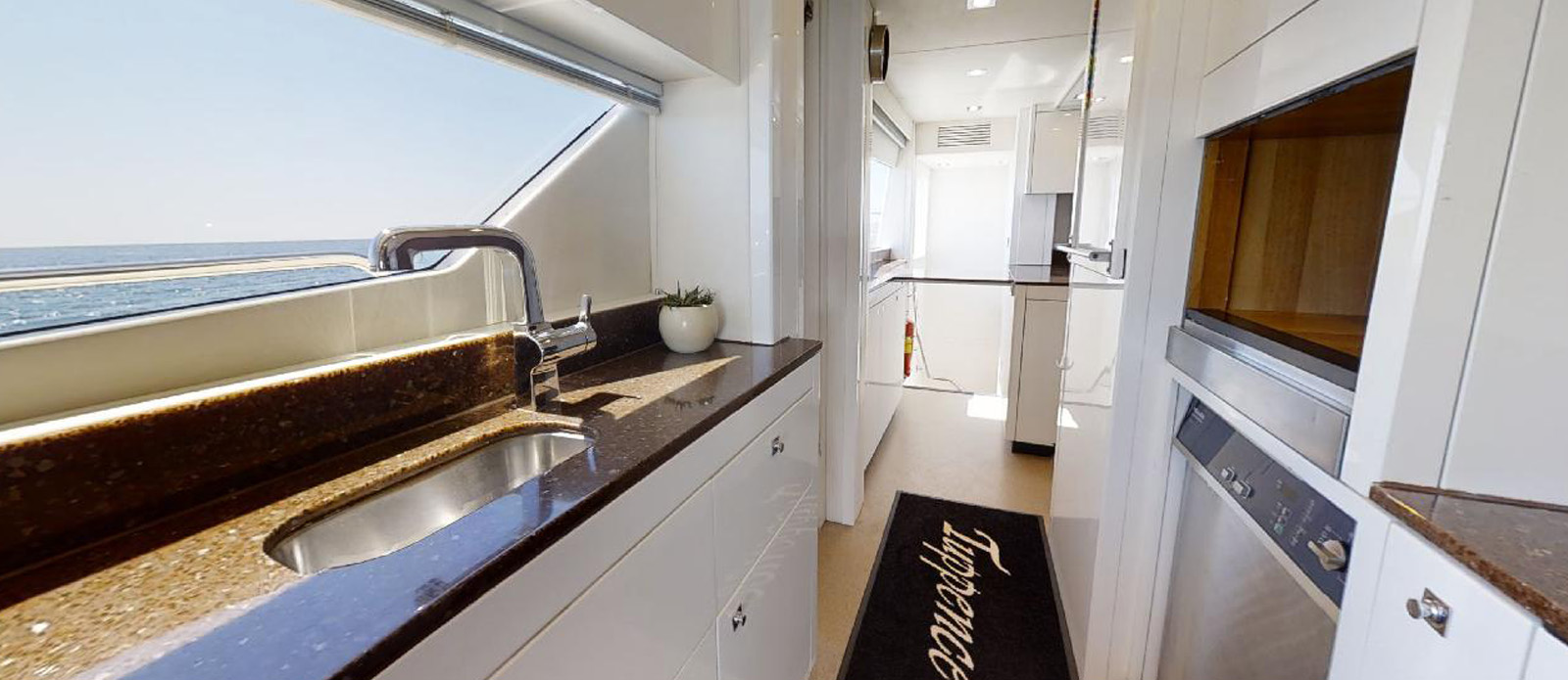 Sunseeker 30 Metre Yacht - Galley 2 - Tuppence