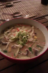 Friends of friends MADE this! Best laksa!