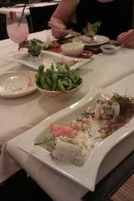 Devouring our sushi