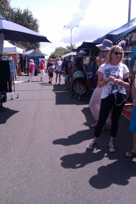 Cotton Tree Sunday markets