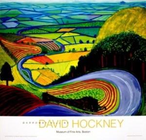 david hockney garrowby hill image