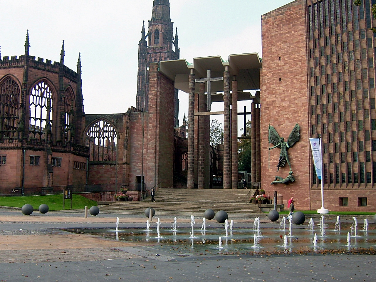 Coventry Cathedral, Heart of England guided tour
