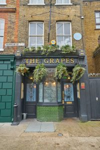 The Grapes pub, London