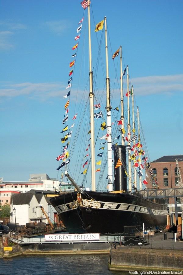 The SS Great Britain, Isambard Kingdom Brunel