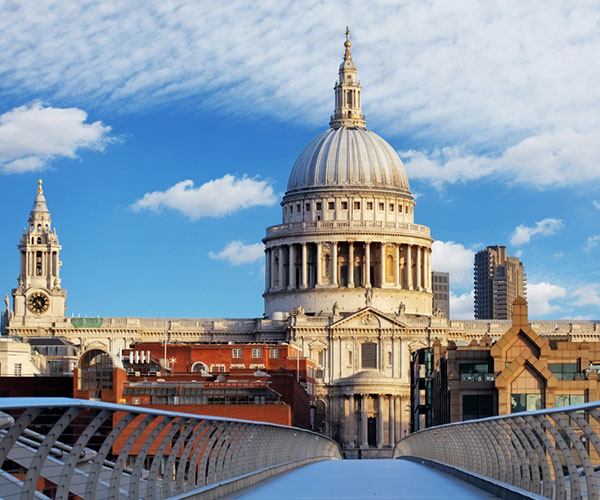 St Paul's Cathedral by day