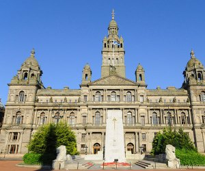 Grand merchant houses of George Square, Glasgow