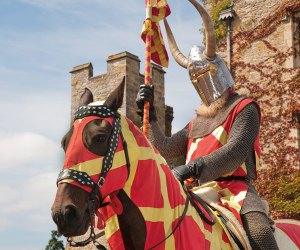 A knight at Hever Castle