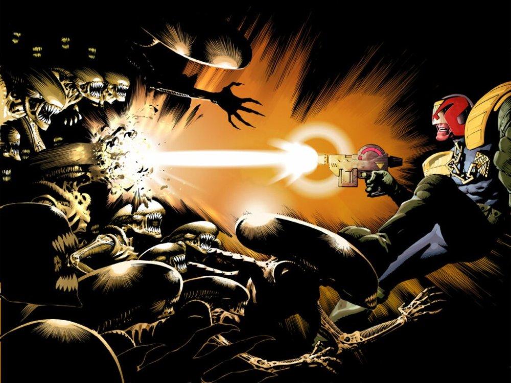 Judge Dredd vs Aliens - Incubus (3/3)