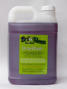 BriteWash one two and half gallon aluminum and stainless steel cleaner