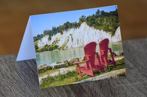 Scarborough Bluffs Greeting Card by BritHikesOntario
