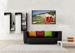 bluffs minimalist-poster-mockup