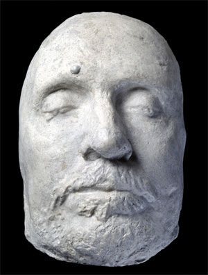 Cromwell's Death Mask (Courtesy of the Ashmoleon Museum)