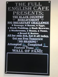 Full English Cafe Challenge