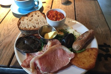 The Plough Harborne Full English Breakfast