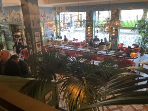 The Ivy Birmingham - View from Upstairs