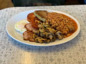 The Pantry Cafe Full English Breakfast