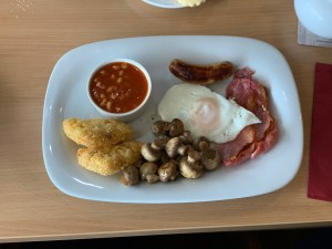 Waynes Bar and Bistro - Full English Breakfast - West Camel