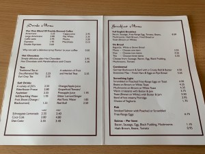 Waynes Bar and Bistro - Menu - West Camel