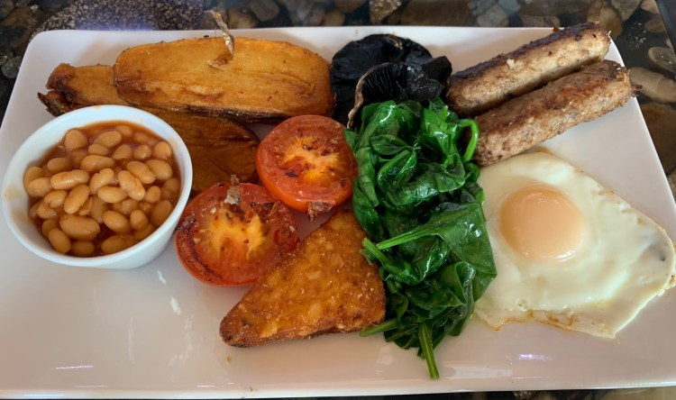 Chelles Deli Cafe - Mirfield - Vegetarian Breakfast