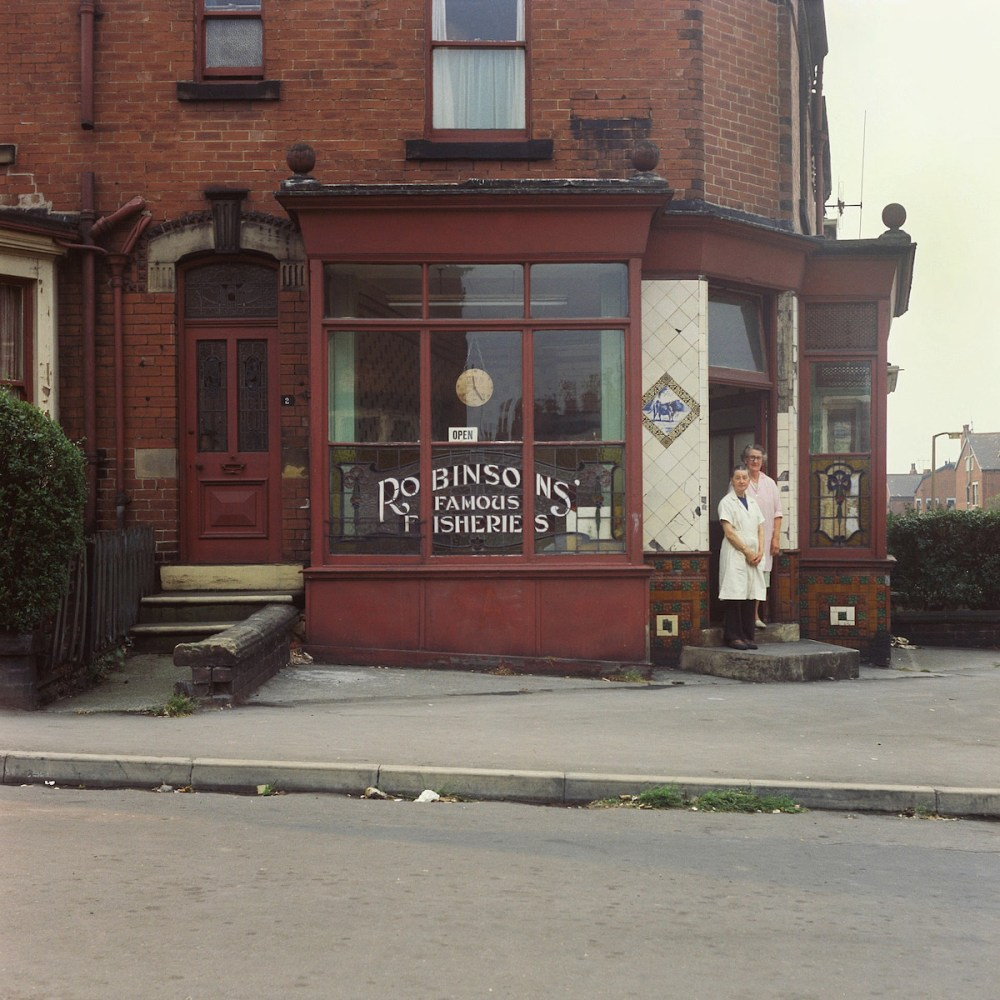 Robinsons Fisheries. Peter Mitchell Leeds 1970s