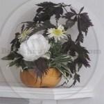 small pumpkin arrangement