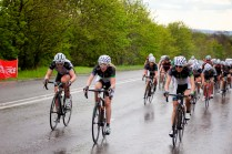 Matrix Fitness girls at the head of affairs at the Bedford 3 Day