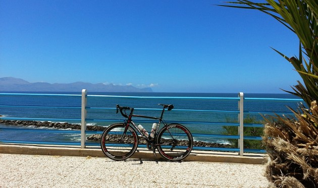 On-Sicily - Hire bikes are the excellent carbon Ridley Orion 7DA with the equally excellent Shimano 105