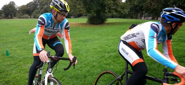 Cornering in cyclocross