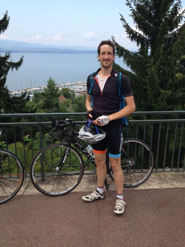 Cycling the Alps - Day 1