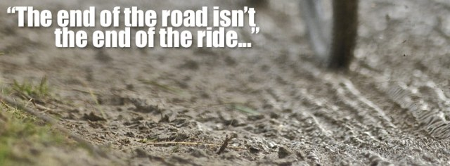 Wise words from the organisers, that  sum up what  riding a 'cross bike is all about