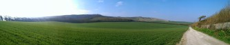 With acres of green and miles of blue sky the Downs make for a wonderful ride