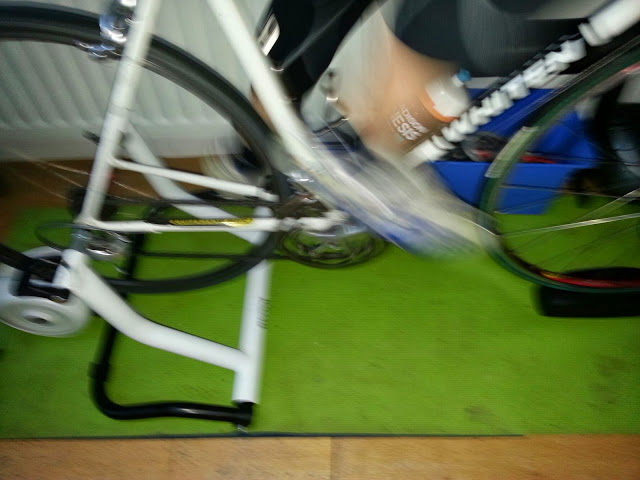 Much of your training will thankfully be outdoors, but don't forget the turbo for those  times when you can't get outside