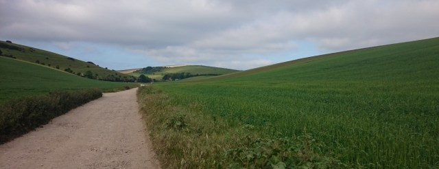 The South Downs Way, a little too tame for a full on mtb, but perfect for a 'cross bike