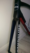 Fred Handsling Bikes RR1 head tube
