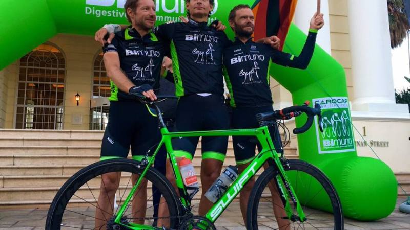 CAROCAP Team break Cairo to Cape Town Record