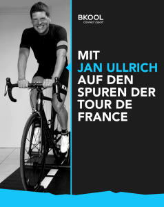 Bkool are giving you the chance to ride - virtually - with Jan Ullrich, without leaving home