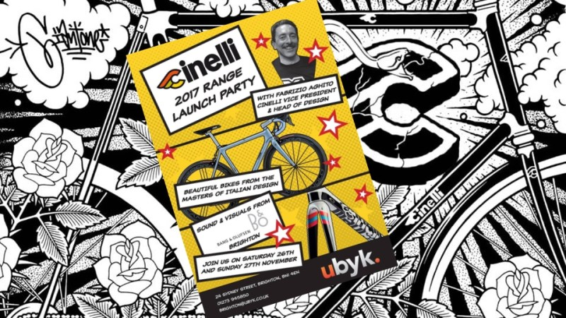 Cinelli 2017 Range Launch Party