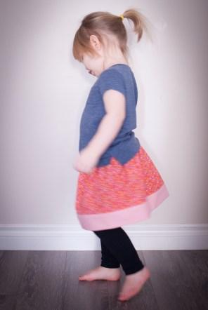 Fat Queart Skirt Twirl-tastic!