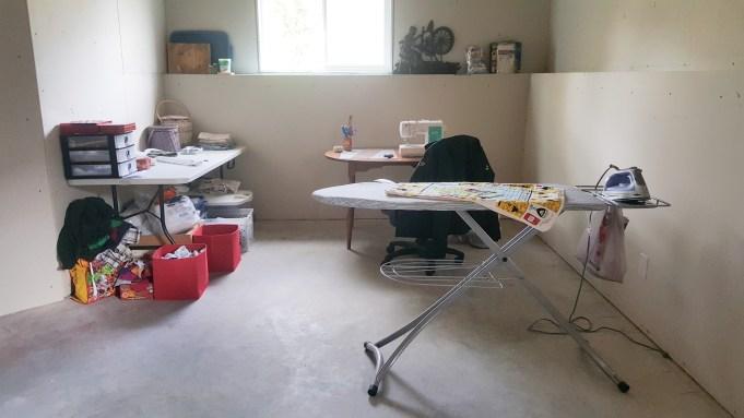 BritishFarmWifeInTraining's sewing room