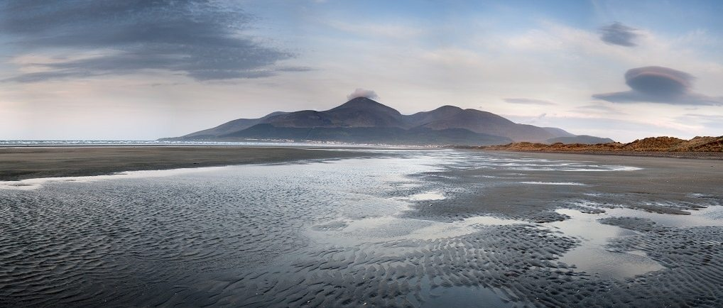 The Mourne Mountains of Northern Ireland