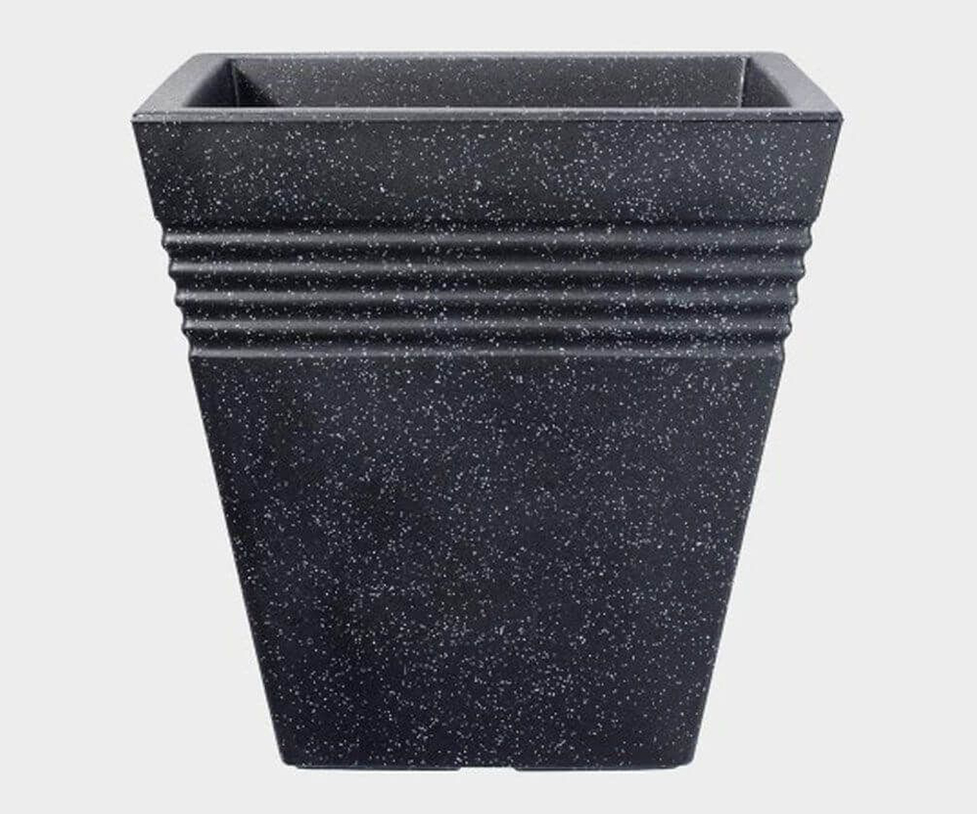 Square Piazza Planter 40cm - Granite
