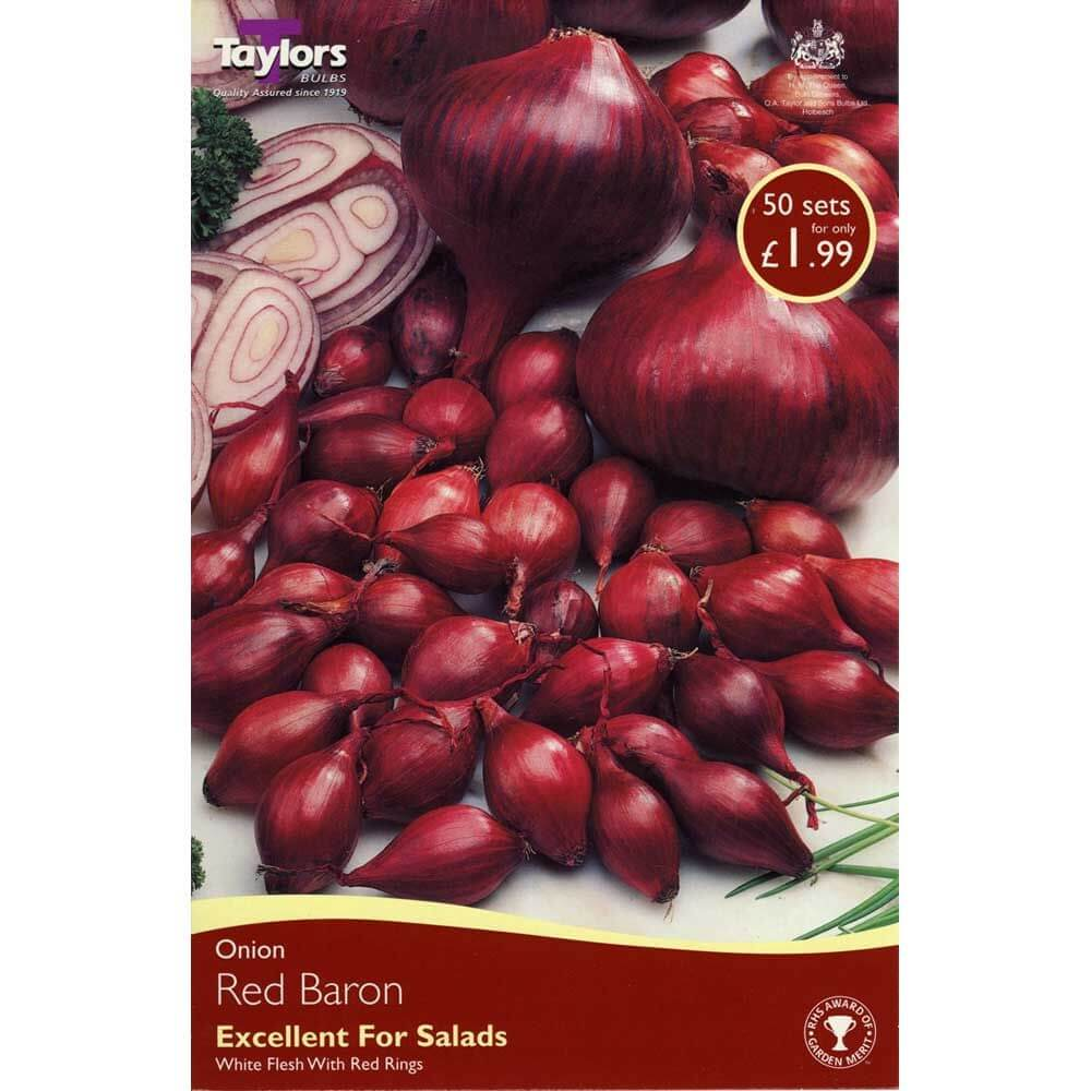 Taylors Onions Red Baron