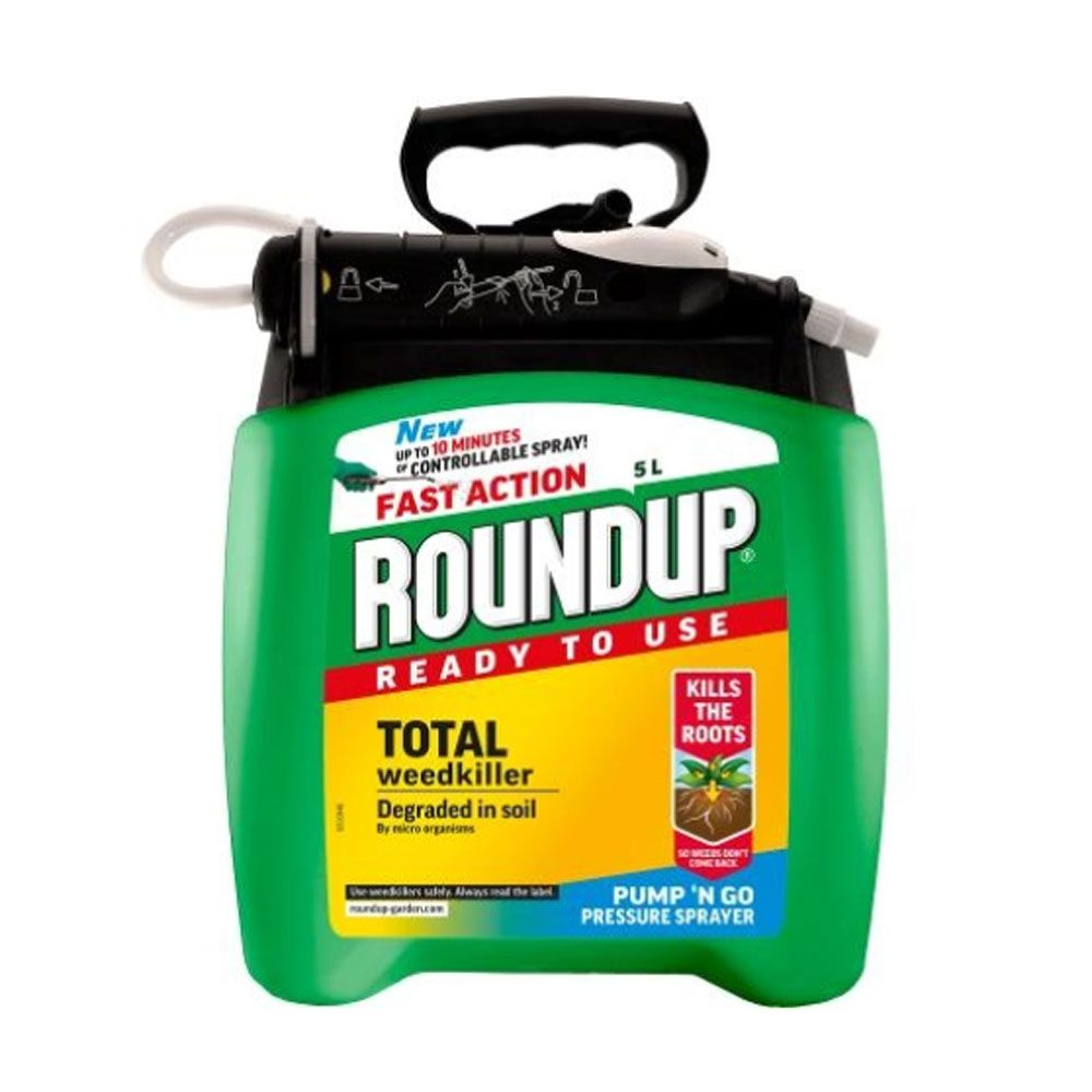 Roundup fast action pump 'n' go weed killer