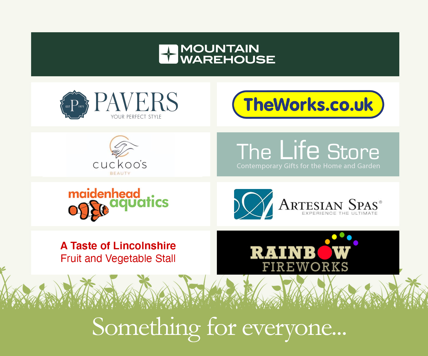 Brigg Garden Centres Concessions we have on site.